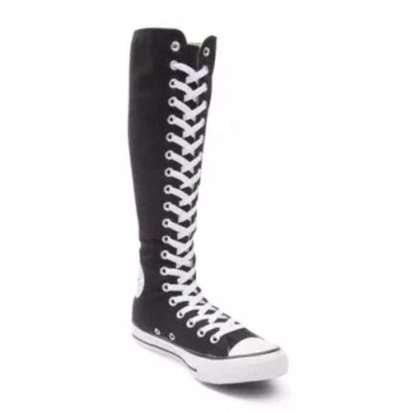 Converse Shoes - Converse knee high sneakers super high tops unisex 7d963b341